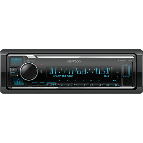 Kenwood KMM-BT306 Radioodtwarzacz 1din Alexa DSP Bluetooth