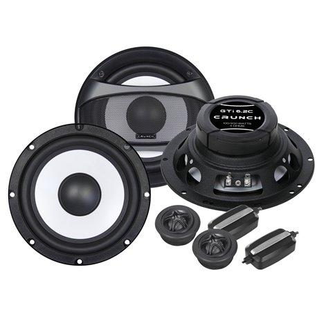 Crunch GTI6.2E - głośniki odseparowane 165mm