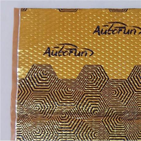 Autofun VDM M2 HL - mata tłumiąca BUTYL 70cm x 50cm