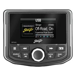 Stinger SPXM1 - Wodoodporne Radio USB BT Kamera