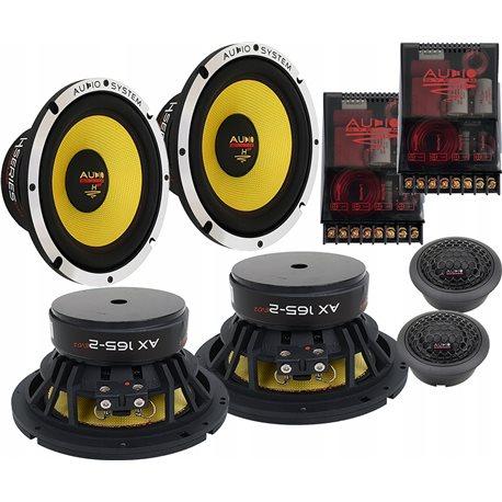 Audio System H165EVO2 - Odseparowany system 165mm