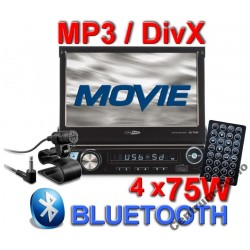 CALIBER RMD574BT radio 1DIN  7'  USB, SD, Dotyk + 8GB