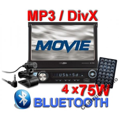 CALIBER RMD574BT radio 1DIN  7''  USB, SD, Dotyk
