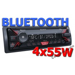 SONY DSX-A400BT Radio z USB AUX Bluetooth NFC FLAC