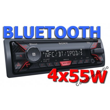 sony dsx a400bt radio z usb aux bluetooth nfc flac. Black Bedroom Furniture Sets. Home Design Ideas