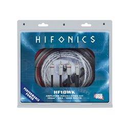 HiFonics HF10WK - zestaw przewodów do montażu wzmacniacza