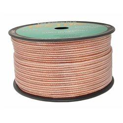 Kabel głośnikowy 2x2,0MM PRZEŹROCZYSTY Cu/OFC(1mb)