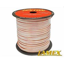 Kabel głośnikowy 2x1,50MM PRZEŹROCZYSTY CCA/OFC (1mb)