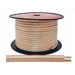 Kabel głośnikowy 2x2,00MM PRZEŹROCZYSTY CCA/OFC (1mb)