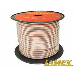 Kabel głośnikowy 2x2,50MM PRZEŹROCZYSTY CCA/OFC (1mb)