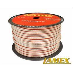 Kabel głośnikowy 2x4,00MM PRZEŹROCZYSTY CCA/OFC (1mb)