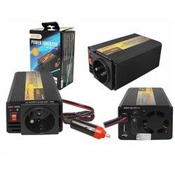 "PRZETWORNICA 12-230V ""LEXTOOL"" 200W/400W+5V USB LXP50"