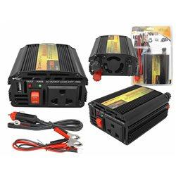 "PRZETWORNICA 24-230V ""LEXTOOL"" 200W/400W+5V USB LXP52"
