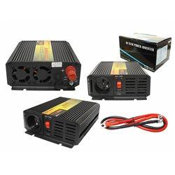 "PRZETWORNICA 24-230V ""LEXTOOL"" 800W/1600W+5V USB LXP58"